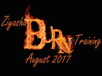 Ziyasha Burns Training August 2017