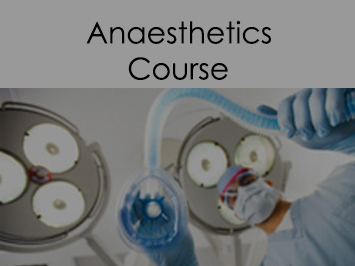 Anaesthetics course